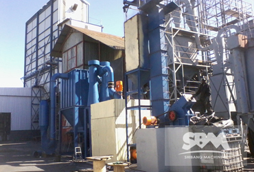 Graphite Grinding By SCM800 Mill For Electronic
