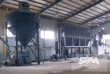 Limestone Grinding By SCM1000 Ultrafine Roller Mill, For 1250 Mesh Plastic Industry