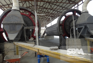 Indonesia 10tph Coal Grinding Ball Mill Design