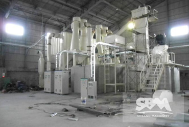 Calcium Carbonate Grinding By SCM900,1.5-2tph For Paper Making