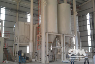 Talc Grinding By SCM1000H Plant For Cosmetics Usage