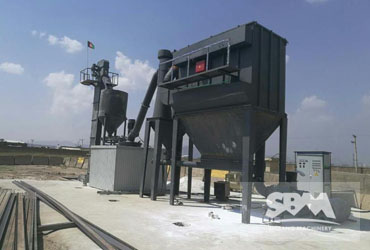 Talc Grinding By SCM Plant For Multiple Usage