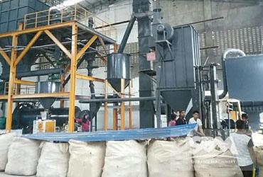 Feldspar Grinding By Ball Mill,1.2tph For Ceramic Industry