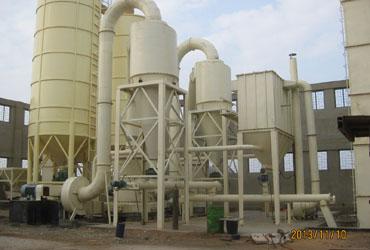 Gypsum Grinding By MTW138 Raymond Mill For Gypsum Board Industry