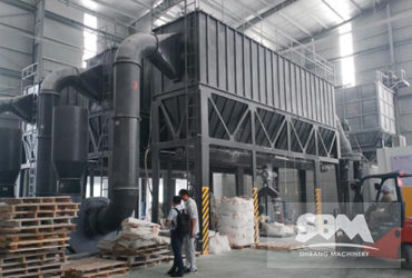 CaCO3 Grinding By SCM1250 Mill For Plastics