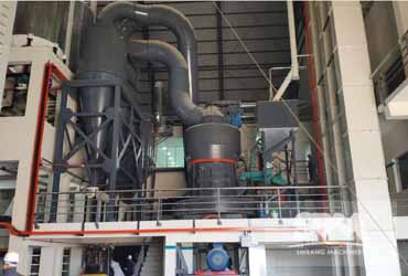 Serpentine Powder Grinding By MTW175Z Roller Mill