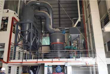 Serpentine Powder Grinding By MTW175Z Roller Mill