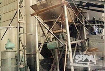 Petcoke grinding mill in Shandong, China