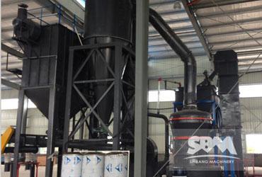 Pet Coke grinding by MTW138,5tph for Boiler  industry
