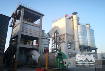 Perlite Grinding By LM Vertical Roller Mill In Pakistan