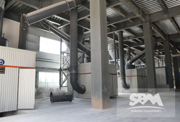 Light Calcined Magnesia Grinding By SCM1250 , 150,000 TPY For Refractory