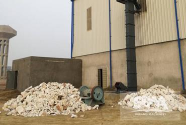 Calcium Carbonate Processing Client Site