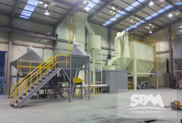 SCM1000 Mill in Turkey