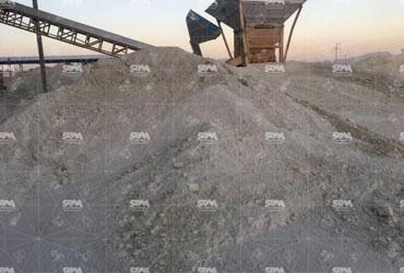 Bentonite Grinding By MTW138, 10TPH 200 Mesh Powder For Oil Drilling Mud