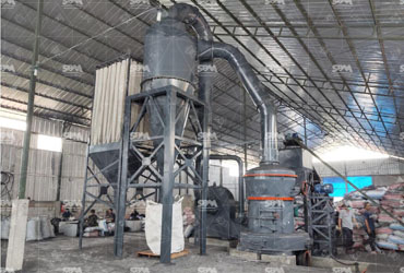 MTW110 Trapezium Mill For Activated Carbon Production Line