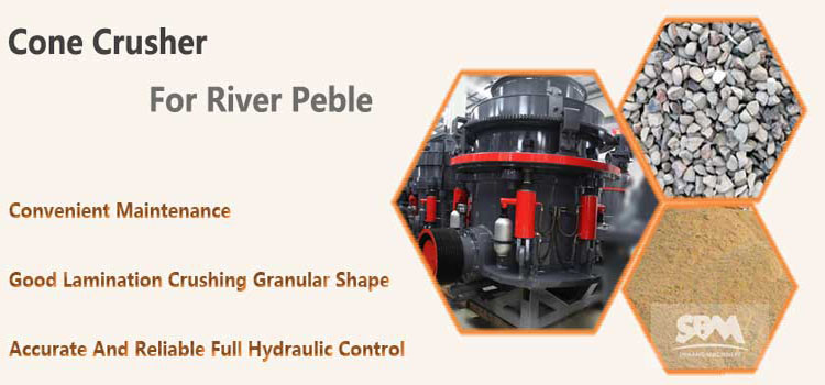 180-220tph River Pebble Crushing Production Line