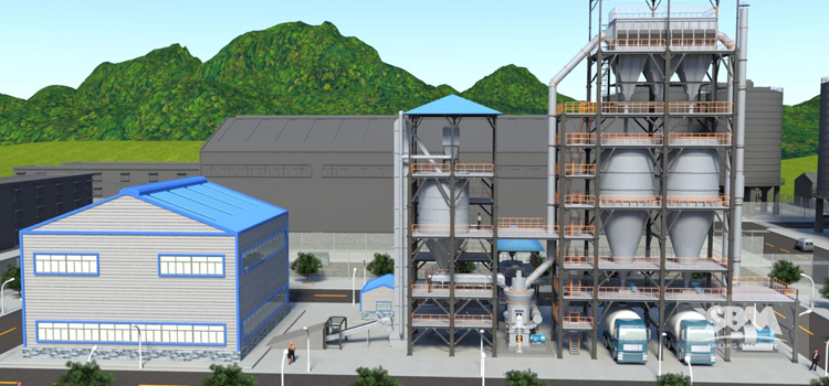 COAL Powder Making Project-LM VERTICAL ROLLER MILL