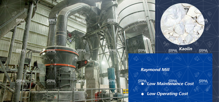Application Of Raymond Mill In Production Of Kaolin Superfine Powder