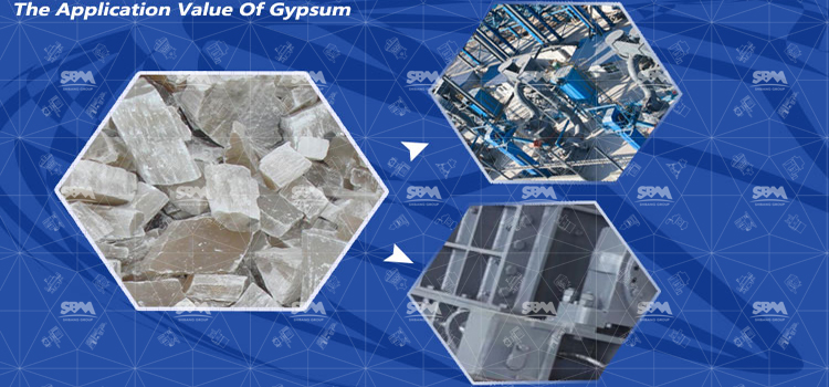 The Application Value Of Gypsum