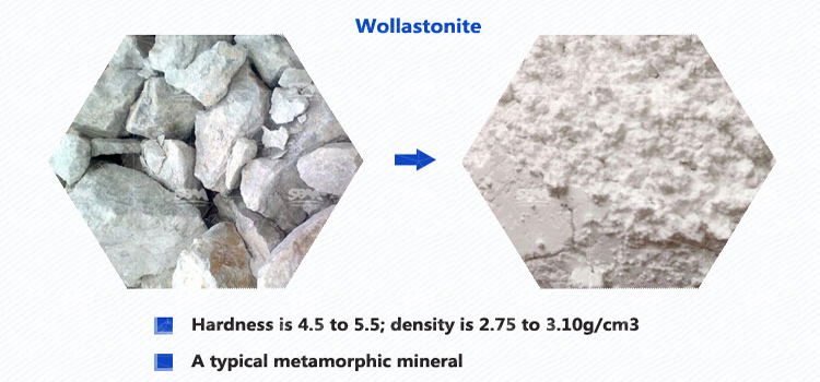 Wollastonite Uses And Processing Production