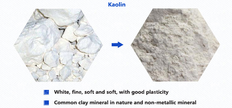 Kaolin Uses And Grinding Processing Solution