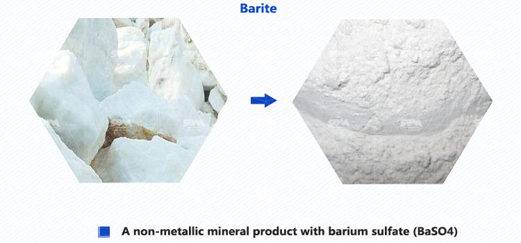 Barite Uses And Grinding Processing Solution