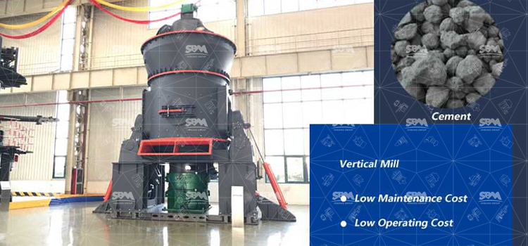 Vertical Mill Used In Cement Industry