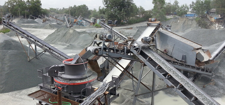 Belt Conveyor for Quarry Crushing Plant