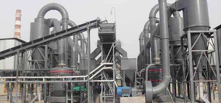 Calcium Carbonate Powder Mill