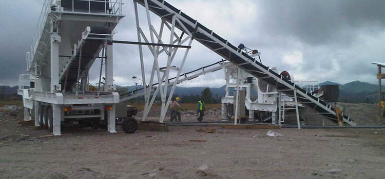 Construction Of Gyratory Crusher